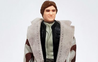 Han Solo in Trench Coat 1984