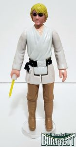 Luke Skywalker Yellow Hair 1977