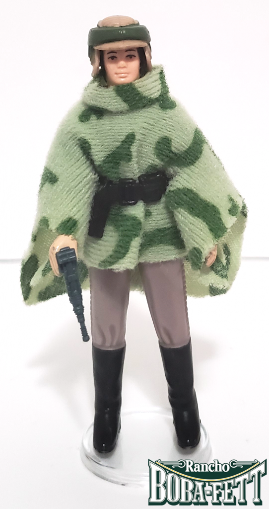 Princess Leia in Combat Poncho 1984