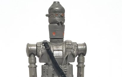 IG-88 (BOUNTY HUNTER) (Solid Gray) (Transition) (HK 1980)