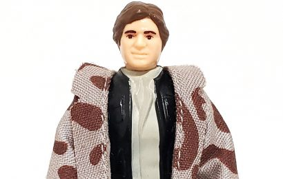HAN SOLO (In Trenchcoat) (Camouflage Collar) (No COO 1984)