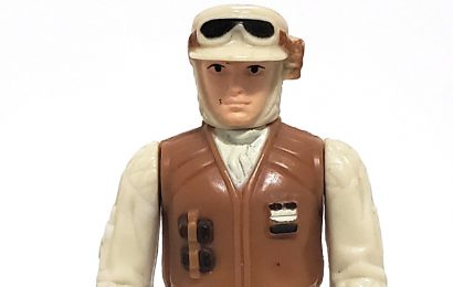 REBEL SOLDIER (Hoth Battle Gear) (Molded Boots) (HK 1980)