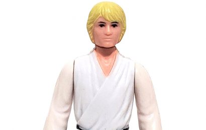 LUKE SKYWALKER (Yellow Hair) (HK 1977)